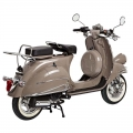 Adultos Vintage scooter tipo Vespa 125cc marrón